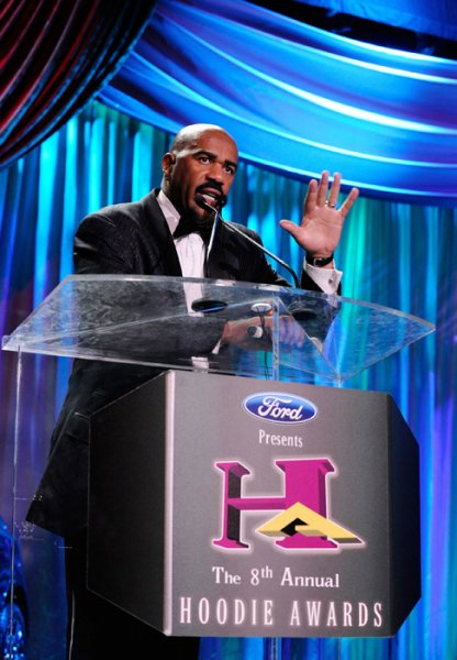 Steve Harveys 2010 Ford Hoodie Awards  Las Vegas Black Image Magazine