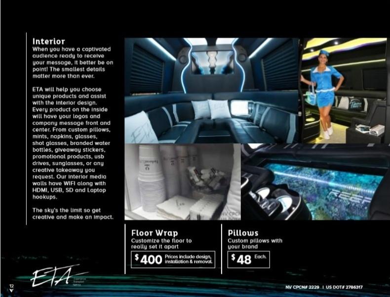 Merecedes Sprinter Rental Las Vegas with Driver8