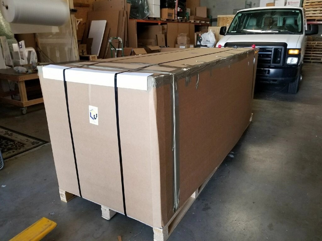 extra large boxes crates for shipping