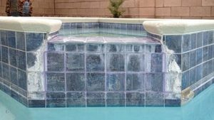 Before Bead Blast - Clarity Pool Service of Southern Nevada