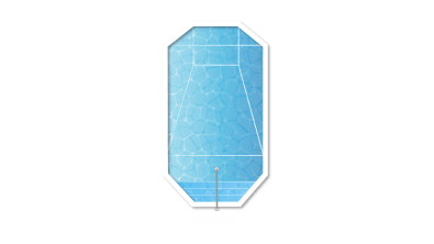 Grecian Swimming Pool Design - Clarity Pool Services of Las Vegas, Nevada