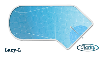The Lazy-L Shape Swimming Pool Design Configuration - Clarity Pool Service of Las Vegas, Nevada