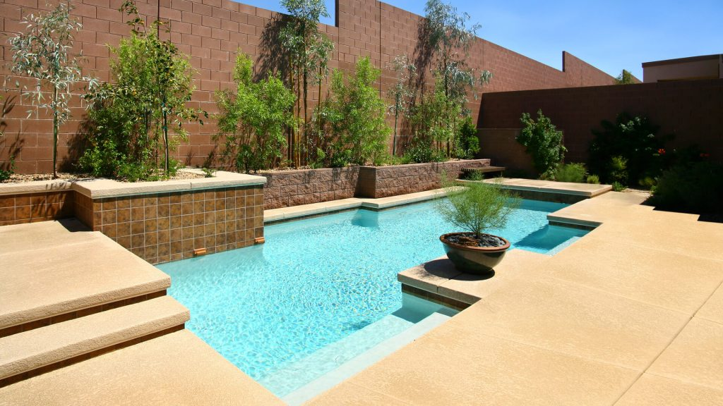 Elegant Custom Swimming Pool Design - Las Vegas, Nevada