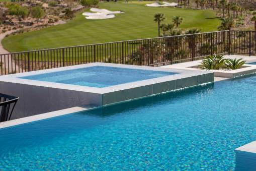 Custom Perimeter-Overflow or Infinity Edge Swimming Pool Design and Construction - Clarity Pool Service