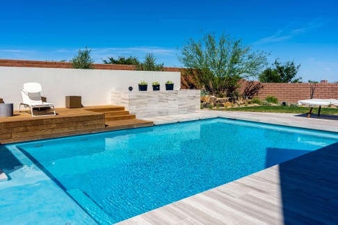 Custom Swimming Pool Design and Construction Services of Southern Nevada - Clarity Pool Service