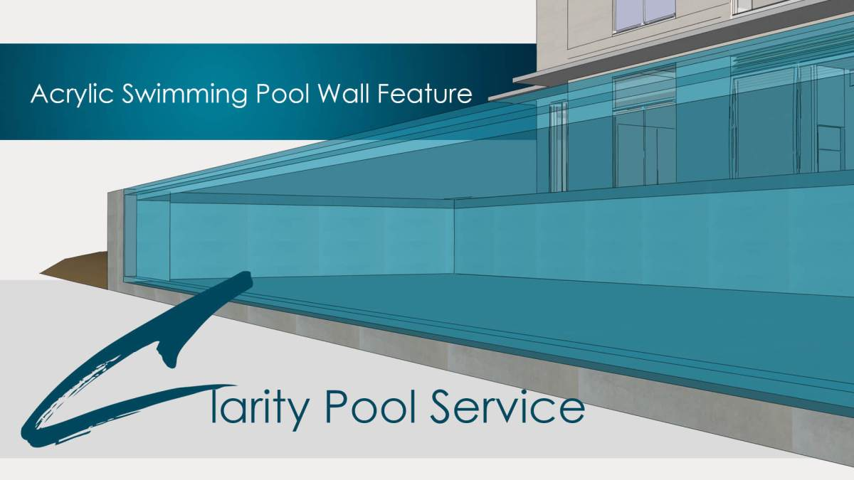 Acrylic Transparent Swimming Pool Wall Sketchup Design