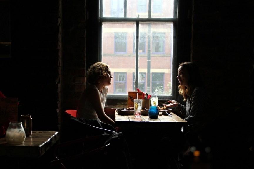 A Pair Of England Interview Restaurant Girls