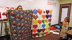 Charity quilts!