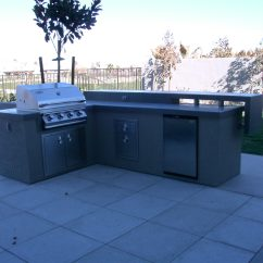 Custom Outdoor Kitchens Farm Style Kitchen Table Design By Nevada Living