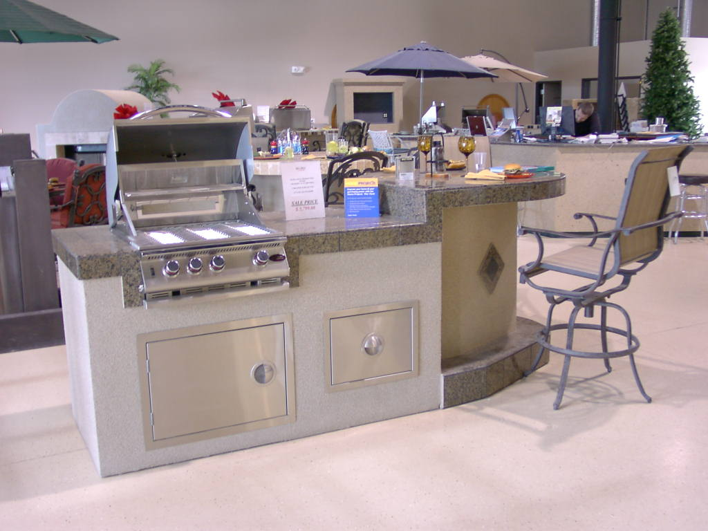 outdoor kitchens las vegas painted kitchen islands custom barbecue island