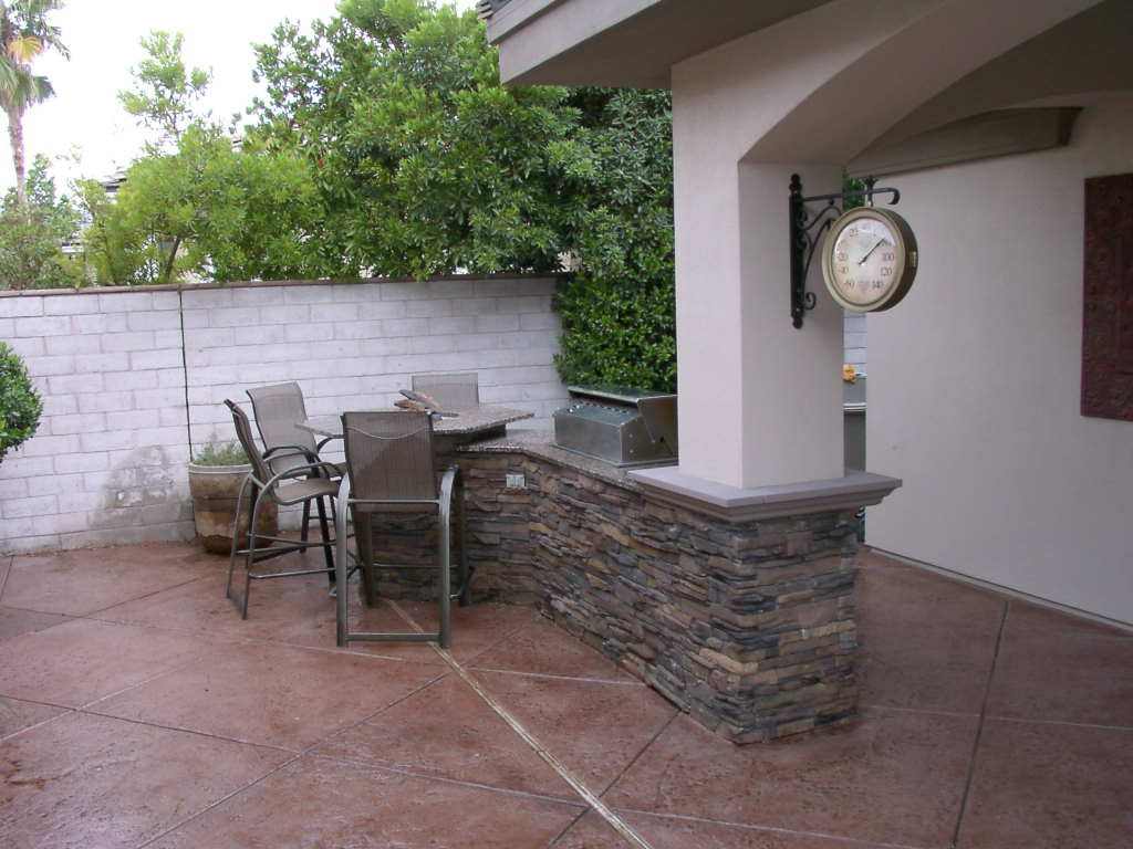 outdoor kitchens las vegas affordable integrated custom kitchen