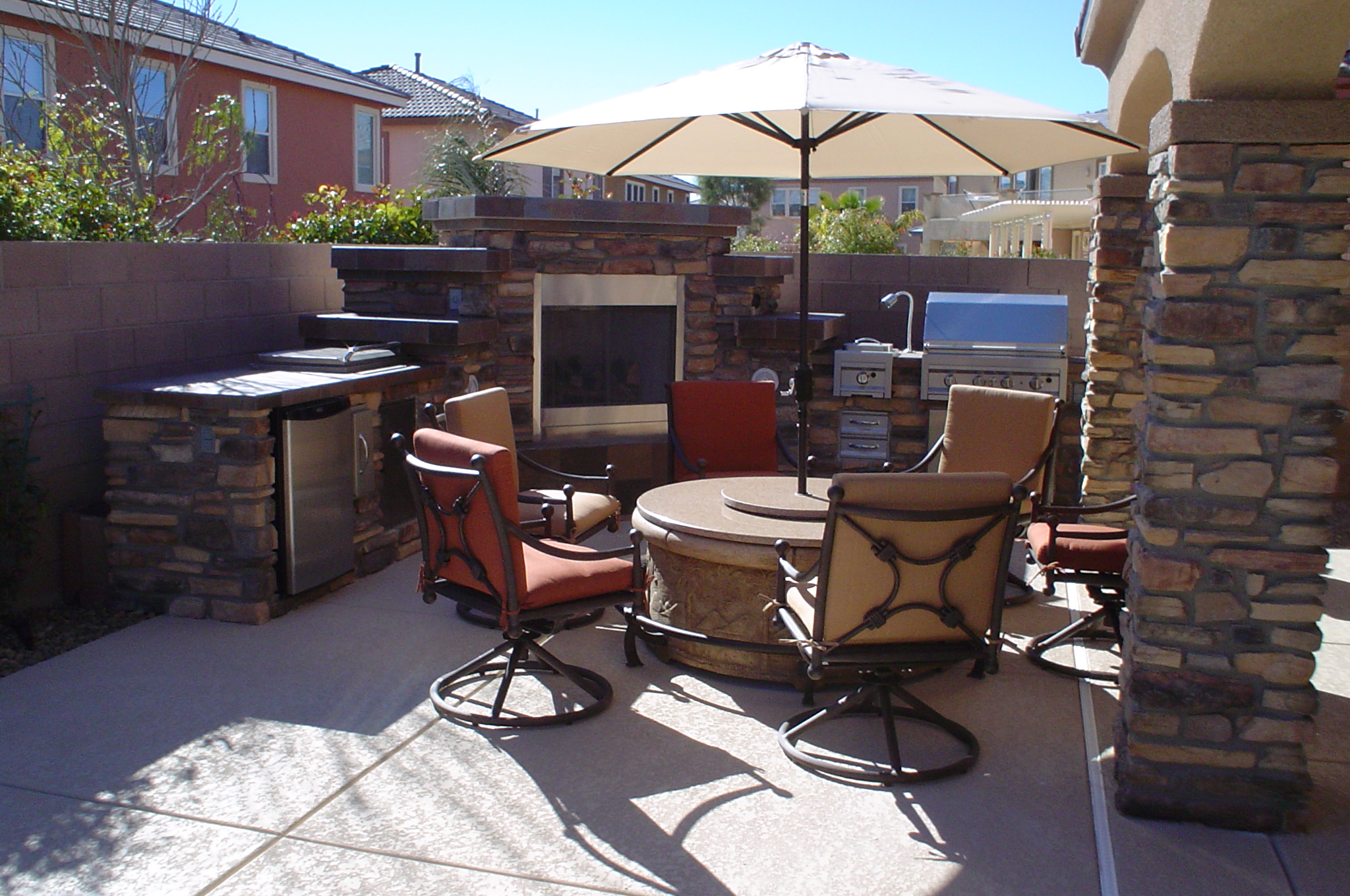 outdoor kitchens las vegas kohler kitchen faucet parts we design custom and barbecue islands