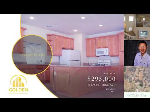 Golden Assets Las Vegas Real Estate Property Showcase 10879 Vestone Ave for sale (Español)