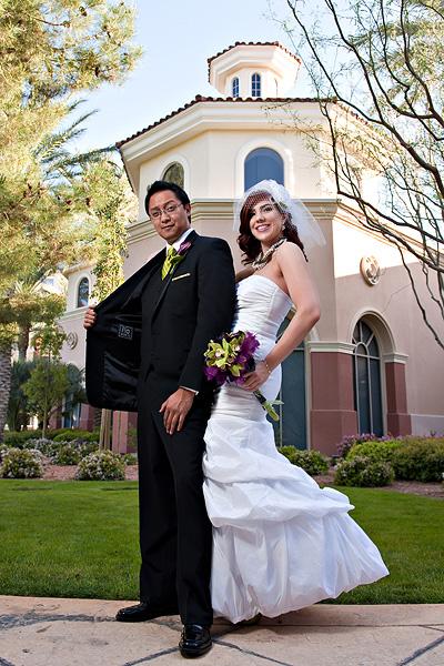 Las Vegas Real Weddings Jennifer  Tedd  Las Vegas Real Weddings