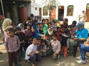 Linda Bertuzzi – Polio Plus in India