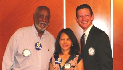 New Members Joe Lee and Jimmelli Skargil were our greeters for last week along with Kirk Holmes.