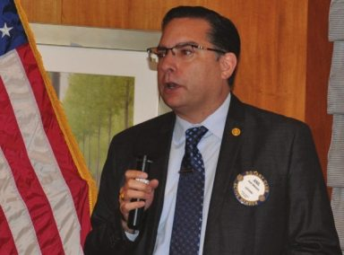 Anil Melnick reports on the club's fellowship plans.
