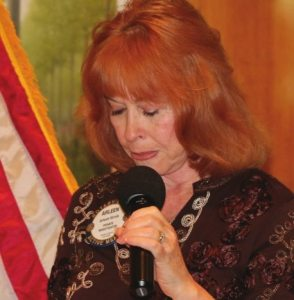 Arleen Sirois opened our meeting with a Prayer.