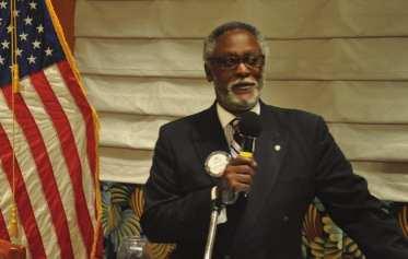 John Lee delivers Martin Luther King invocation.