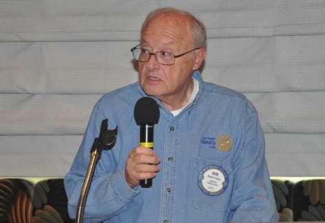 Bob Fisher delivers Invocation.