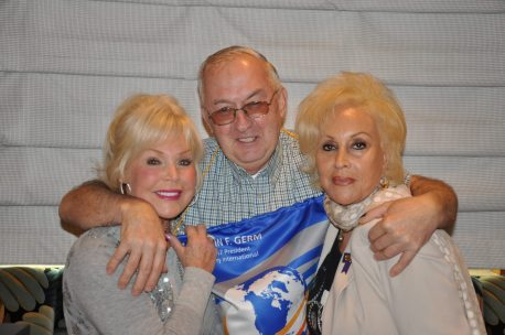 Sally NY Rotarian Paul Schneibs + Annie Noonna