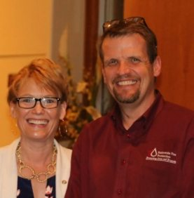 Rob and Sarah Brown announced the upcoming highway clean up.