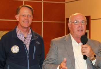 Sergeant-at-Arms Past President Russell Swain and Bill Stieren brought us up to date on the planned test site visit.