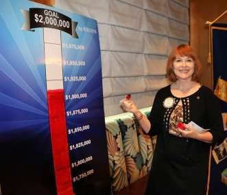 Arleen Sirois who won our Pot, updates our Foundation graph by $6,800.