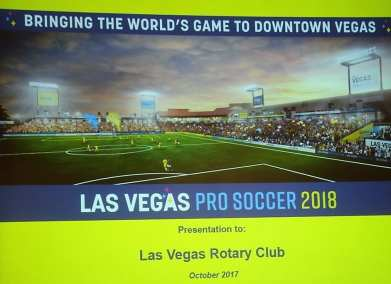 Las Vegas Soccer will come to a redesigned Cashman Field in 2018.