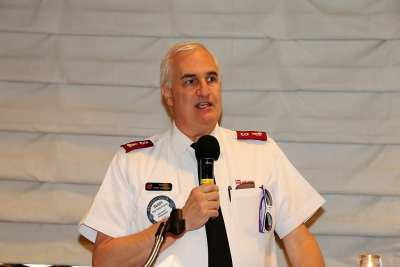 Major Randy Kinnamon of the Salvation Army outlined their response in helping the victims of the Route 91 music festival