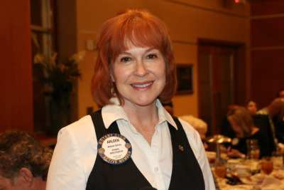 Arleen Sirois was our Sargent At Arms and did a fine job.