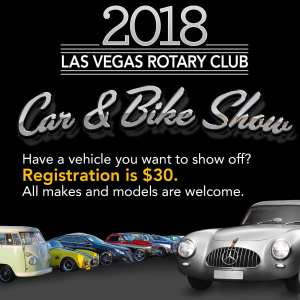 Cars For A Cause Las Vegas Rotary Club - Car show promotional items