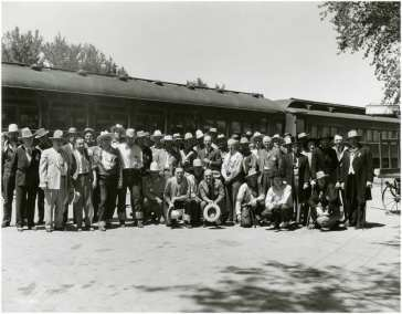 Helldorado meeting circa 1930s