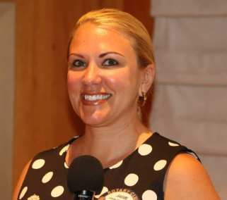 Jaime Goldsmith led with her inspirational invocation.