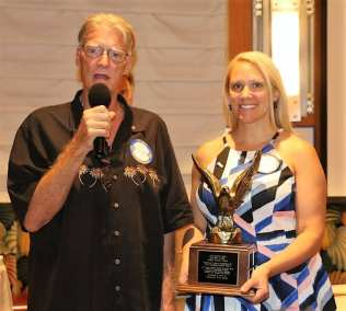 Jaime Goldsmith and Glenn Townsend from the Summerlin Club urged members to attend the next SOAR event on September 19th.