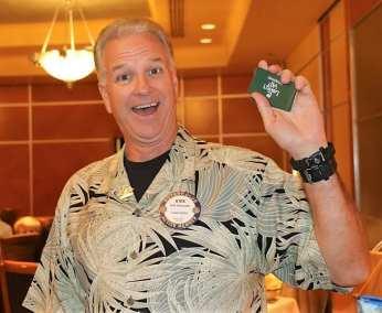 Kirk Alexander won the $50 in Lawry Bucks.
