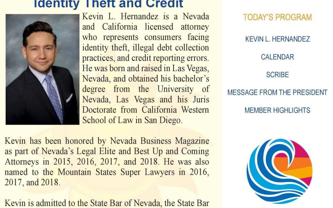Kevin L. Hernandez – Identity Theft and Credit