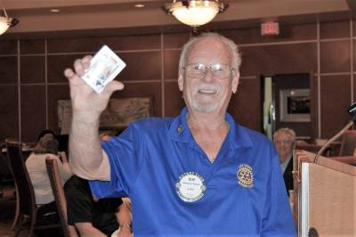 Bob Werner was a $10 winner in the weekly drawing.
