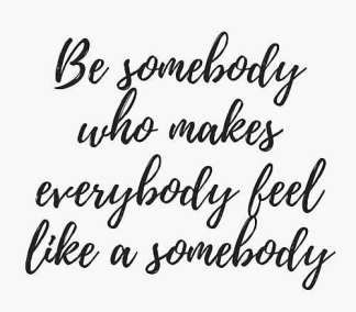 Be-that-somebody