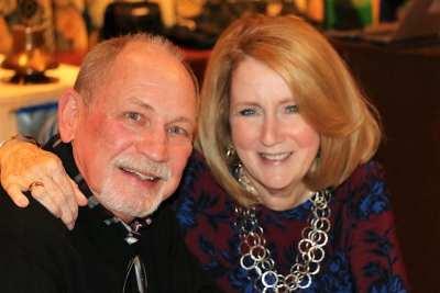 Visiting PP Mary Ann Avnet and her husband Steve joined us for lunch.