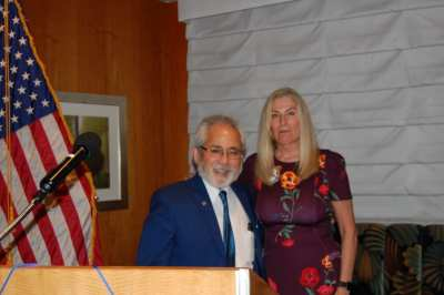 Dr. Andy Kuniyuki was honored as Rotarian of the Month.