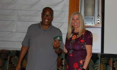 The drawing for Lawry Bucks was won by Doug Grant.