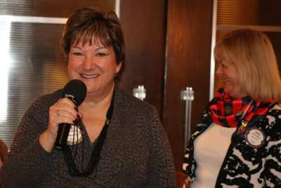 Deb Granda and our Sergeant at Arms Rose Falocco gave an update on our holiday party.