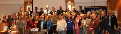 A Group shot of the membership…..except the photographer.