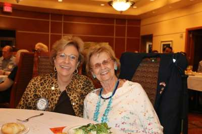 Carolyn Sparks and Mercedes Hilbrecht