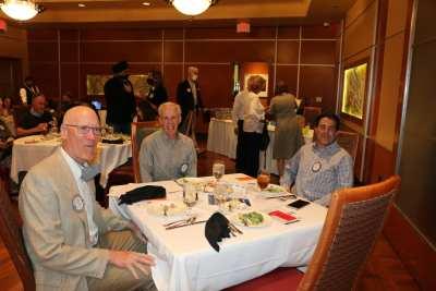 Head table Steve Casey, Paul Maffey and Brian Sorrentino