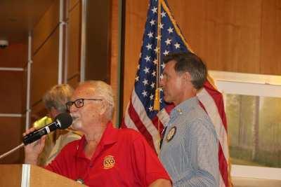 LVRC Foundation President Dan Adamson and PE Bob Werner announce a new board member
