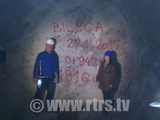 Probijen tunel ispod Bileće, radovi trajali dvije i po godine - Foto: RTRS