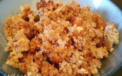 CÉRÉALES CROUSTILLANTES FAÇON CROUSTY sans gluten, sans lait, avec ou sans sucre, sans œuf