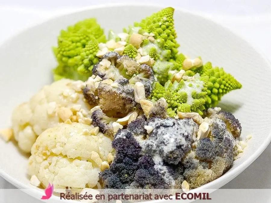 CHOUX VARIÉS SAUCE BÉCHAMEL PARFUMÉE AU CUMIN sans gluten